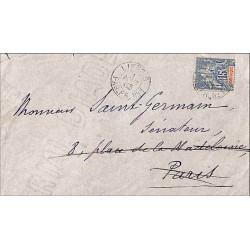 LIGNE D  PAQ. FR. No 1 - 1903