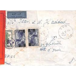 1944 Lettre avion pour la...