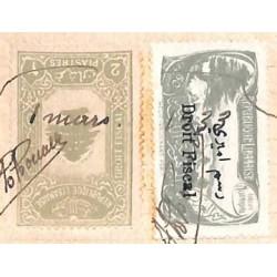2 P. 50 sur quittance 1933