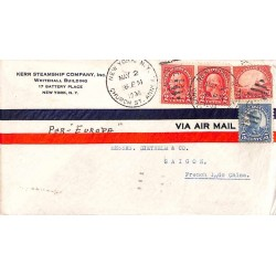1936 Lettre des USA pour...