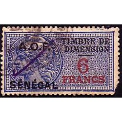 Dimension 6 francs, used
