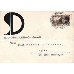 LEBACH Saar  1934