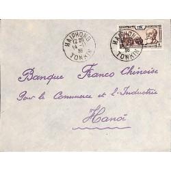 1938 Lettre  pour...