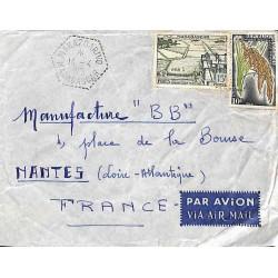 MAHAZOARIVO MADAGASCAR 1961 (léger défaut)