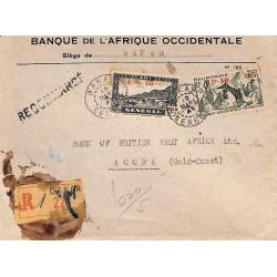 1945 Enveloppe recommandée...