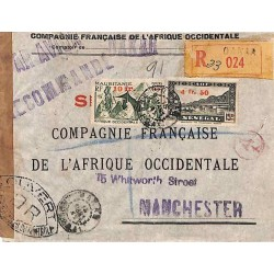 1945 Enveloppe avion...