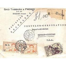 1945 Lettre avion...