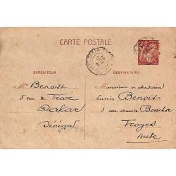 1941 Carte postale...