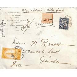 Lettre chargée 1919...