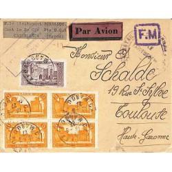Lettre FM avion 1927...