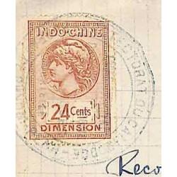 1916 Lettre Affranchie 45...