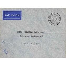 DIRECTION DES P.T.T. GUYANE - FRANse 1957