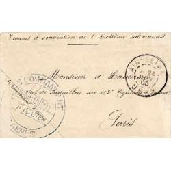 1903 LE COMMANDANT D'ARMES BENI-OUNIF FIGUIG