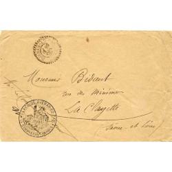 1902 PLACE DE DJENAN-ED-DAR * LE COMMANDANT D'ARMES *  Déesse