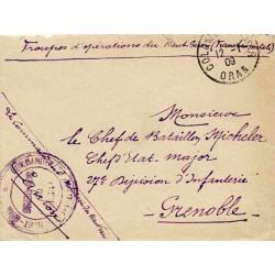 1909 COMMANDANT MILITAIRE DU HAUT-GUIR * POSTE DE BOU-DENIB *
