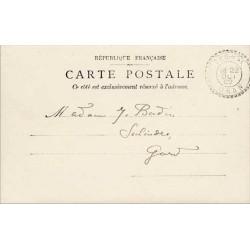 1902 TAGHIT ORAN  Oblitération