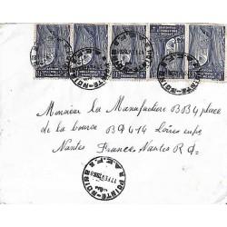 1958 Affranchissement à 20...