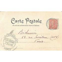 1903 Oblitération bleu...