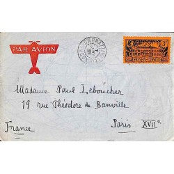 (timbre peu courant sur courrier : cote Dallay 75 € utilisé seul)