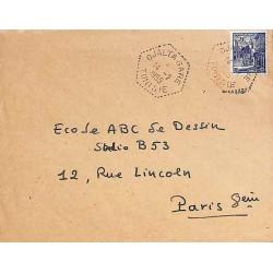 DJALTA GARE  TUNISIE 1955
