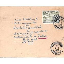 MANANTENINA  MADAGASCAR 1959