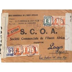1944 Cover to Nigéria...