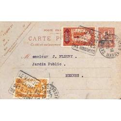 1930 Entier carte postale 5...