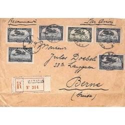1924 Lettre 2 f 50 pour la...