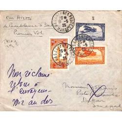 1925 juin Enveloppe Premier...