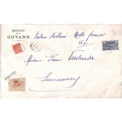 1935 Grande lettre chargée...