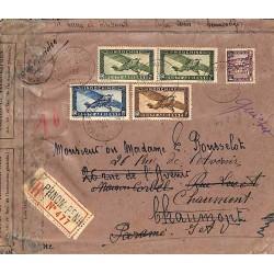 1934 Lettre 25 c...