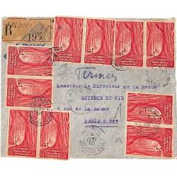 1950 Lettre à 30 f. de...