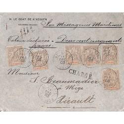 1903 Enveloppe valeur...