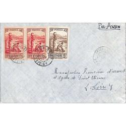 1940 Enveloppe avion pour...