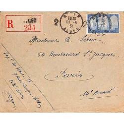 1931 Lettre oblitération...