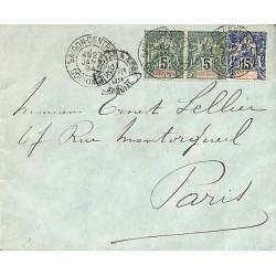 1894 Lettre 20 c...