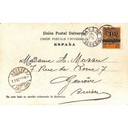 1903 Carte postale pour la...
