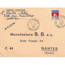 ANSES D'ARLETS - MARTINIQUE - 1967