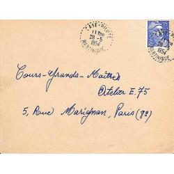 CASE - PILOTE MARTINIQUE 1954 (lettres serrées)