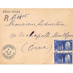 CROIX - RIVAL MARTINIQUE 1951