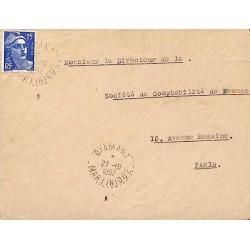 DIAMANT MARTINIQUE 1952 (lettres espacées)