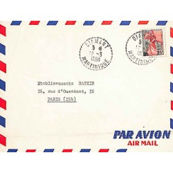 DIAMANT MARTINIQUE 1960 (lettres serrées)