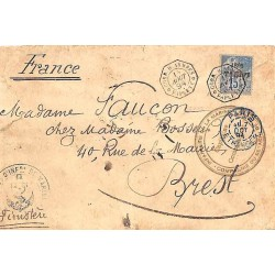 CORR. D. ARMEES * PAPEETE *  1894