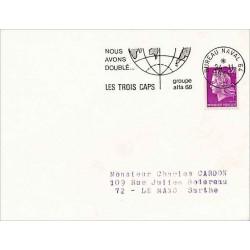 BUREAU NAVAL 64 LES TROIS CAPS  1968
