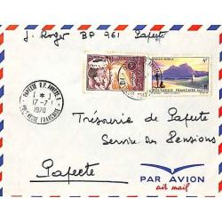 PAPEETE RP ANNEXE 1 - POLYNESIE FRANCAISE - 1970