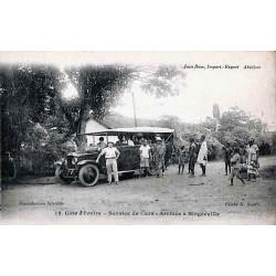 Côte d'Ivoire - Service de cars - Arrivée à Bingerville