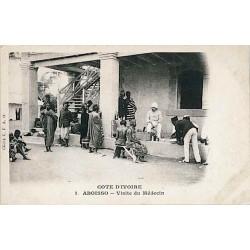 COTE D'IVOIRE - ABOISSO - Visite d'un médecin