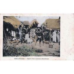 Côte d'Ivoire - Départ d'une caravane (Koudiokofi)