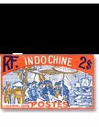 Indochine oblitérations postales sur lettre - Tropiques collections