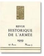 Revue Historique des Armées cover Drago- Tropiquescollections